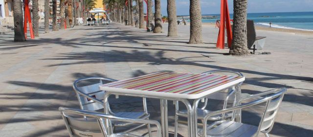 L'Ajuntament de Vinaròs amplia l'exempció de pagament de la via pública per a l'hostaleria i la restauració