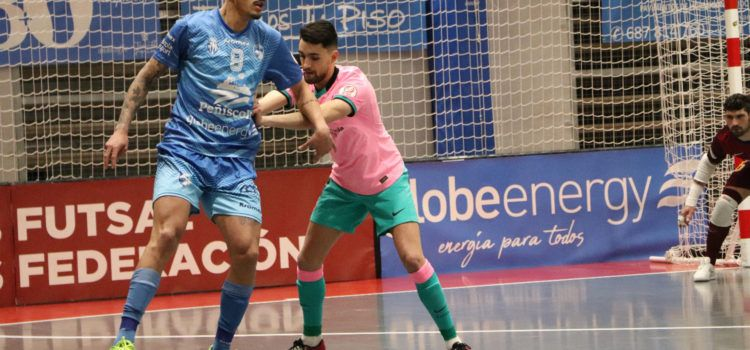 El Peñíscola Globeenergy cae ante el Barça 1-3 tras un partido muy igualado