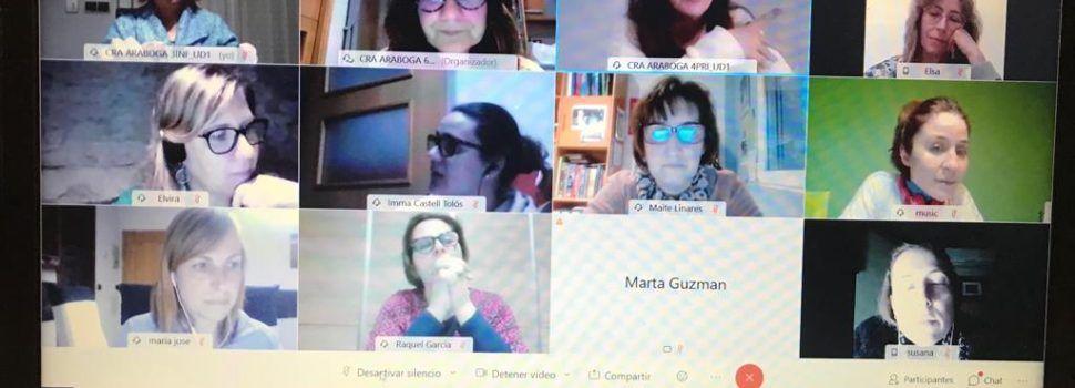 Tertúlies literàries per a familiars i mestres al CRA Araboga (Canet-La Jana-Cervera)