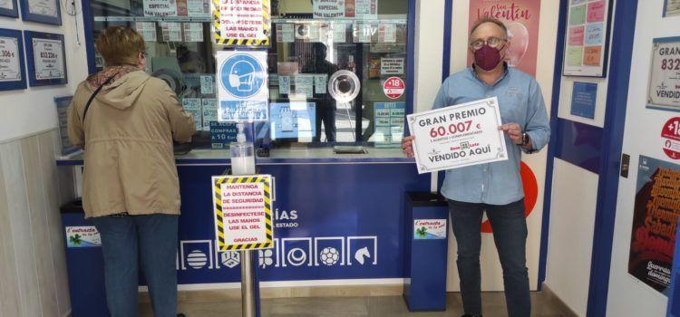 Un veí de Benicarló guanya 60.007 euros en la Bono Loto