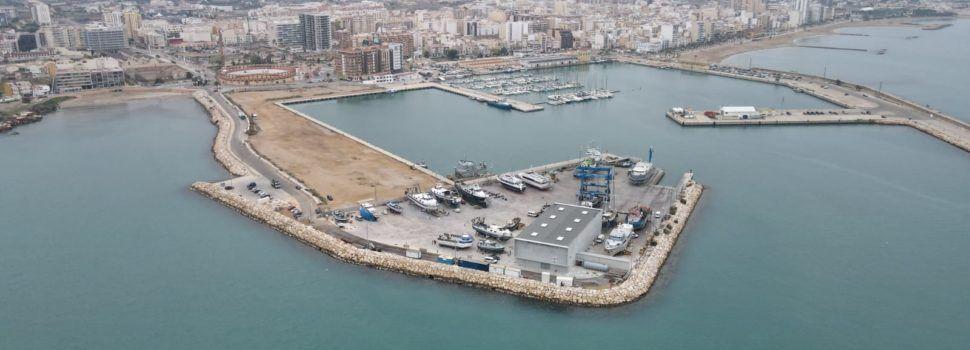 Fotos: el port de Vinaròs, a vista de dron