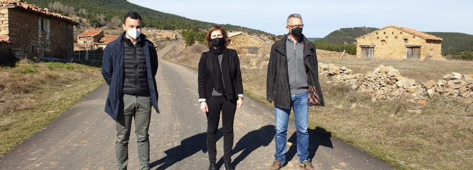 Agricultura asfalta 4,3 km del camí dels Mollats de Vilafranca
