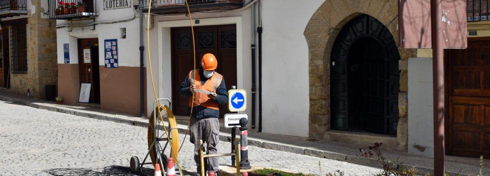 Comencen a instal·lar la nova xarxa de fibra òptica a Morella