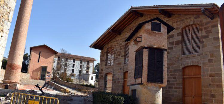 Continuen les millores de les infraestructures de la Fàbrica Giner de Morella