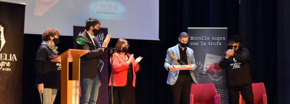 """David Casals-Roma, premi Tuber Melanosporum 2021 de Morella Negra amb la novel·la""""21 días de ira"""""""