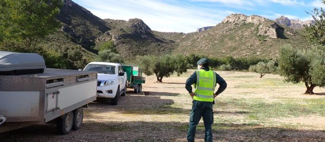 La Guardia Civil identifica dos vecinos de Els Reguers cazando en una Reserva Nacional de Caza sin autorización