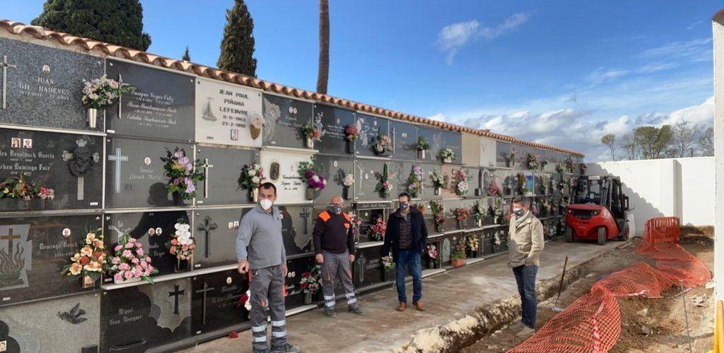 Treballs de millora al Cementeri Municipal de Benicarló