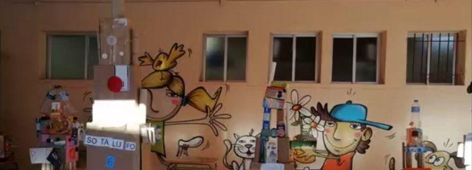 Vídeo: els coets de l'alumnat d'Infantil del col·legi Assumpció de Vinaròs