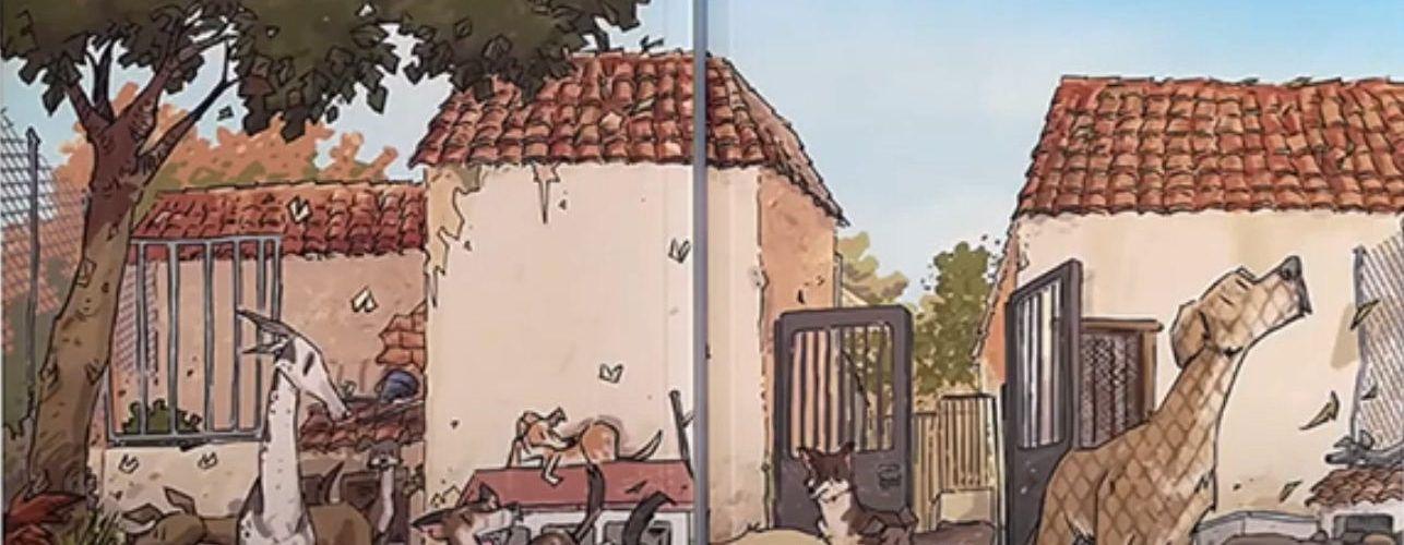 """José Fonollosa publica un nuevo cómic, """"Refugio"""""""