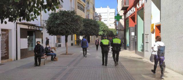 La Policia Local de Benicarló interposa 28 denúncies durant el cap de setmana