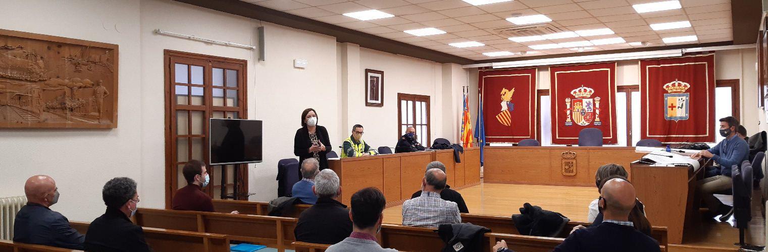 Ajuntament de Benicarló i transportistes constituiran una comissió de seguiment per les obres de la 340a