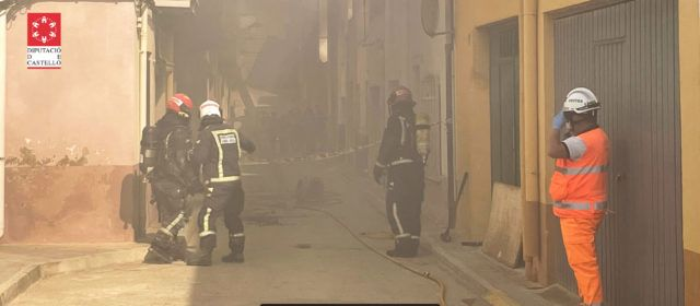 Una persona fallecida en el incendio de una vivienda en Torreblanca