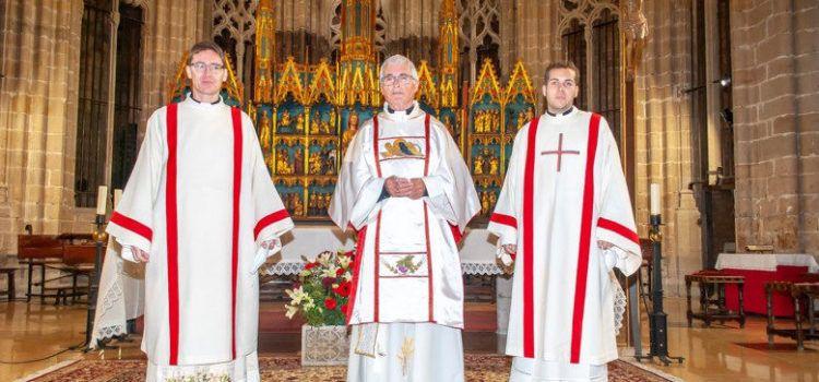 Tres ordenacions diaconals a la catedral de Tortosa