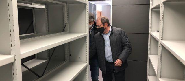 Santa Magdalena ja té llest el nou arxiu municipal