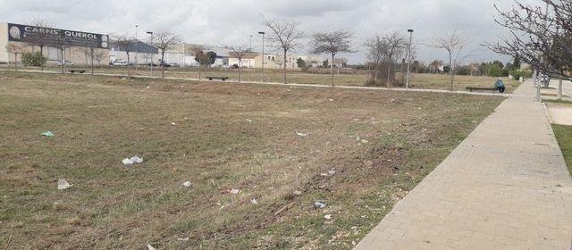 L'Ajuntament realitza tasques de manteniment de l'arbrat i zones enjardinades