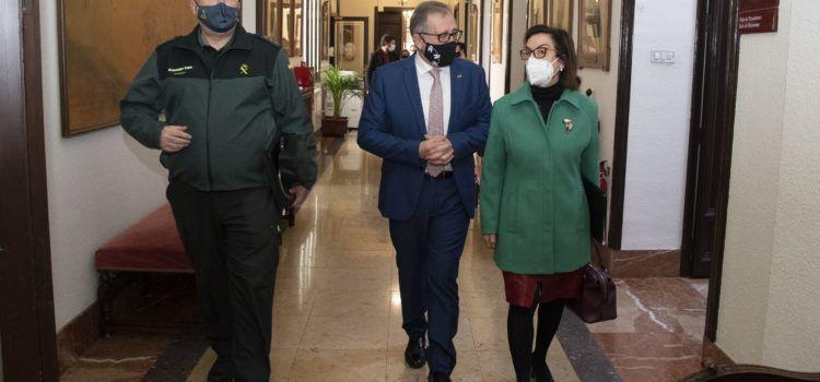 La Diputació i el Ministeri d'Interior subscriuran un conveni bianual de 400.000 euros per a la millora de les casernes de la Guàrdia Civil