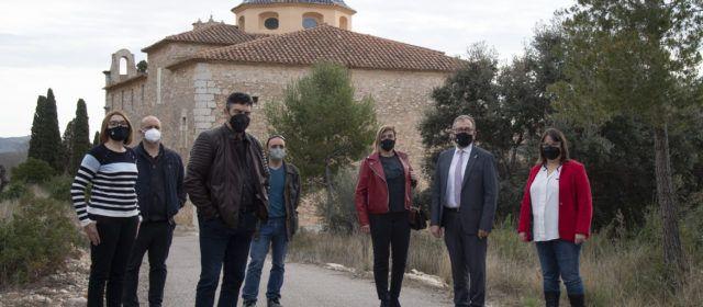 La Diputació subvencionarà amb 37.000 euros la reparació de la cúpula de l'ermita del Socors de Càlig