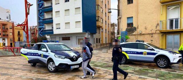 "Detingut ""in fraganti"" robant electrodomèstics a Vinaròs"