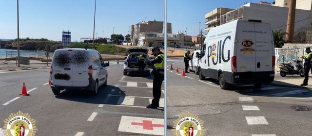 Campanya de vigilància a Vinaròs sobre el cinturó de seguretat