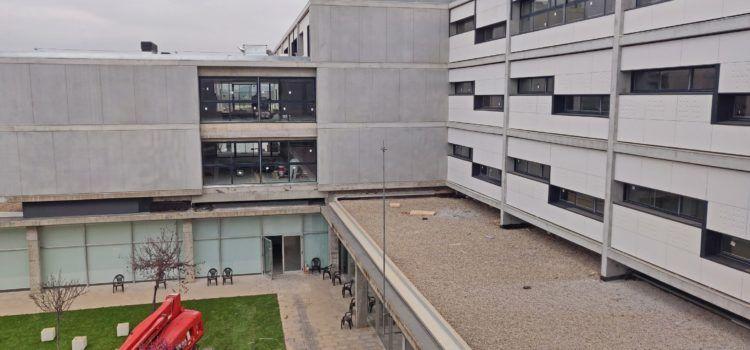 La residència de la tercera edat de Vinaròs encara la recta final de les obres