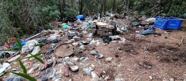 L'Ajuntament de Peníscola denuncia falta de recursos per a neteja i manteniment al Parc Natural de la Serra d'Irta