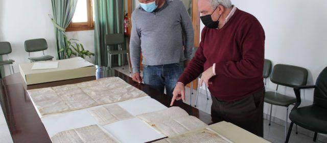 Culla recupera 48 relevantes documentos para su archivo histórico