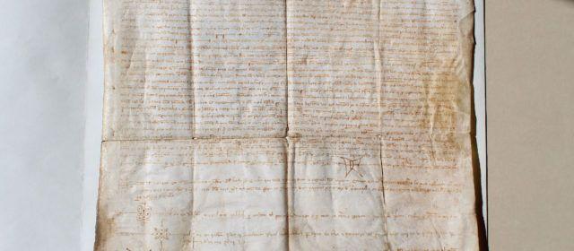 Culla expondrá su Carta de Población en el 777 aniversario