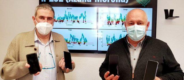 El Movimiento ciudadano Teruel Existe comienza un estudio sobre la cobertura y banda ancha de la provincia, que llega hasta Morella