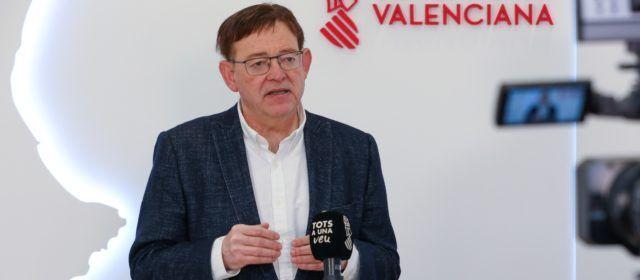 Puig destaca que ningún municipio valenciano está ahora en riesgo alto de covid