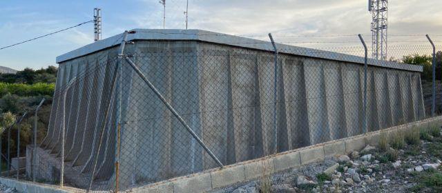 L'Ajuntament de la Jana adquirirà la parcel·la dels dipòsits d'aigua potable