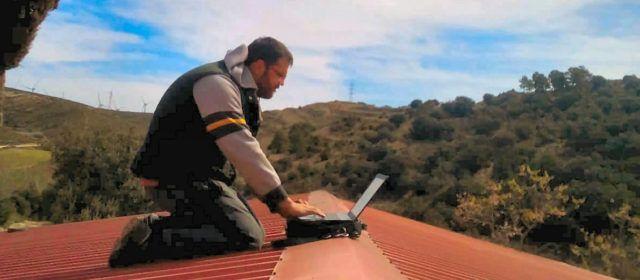 El tejado: despacho con conexión a internet