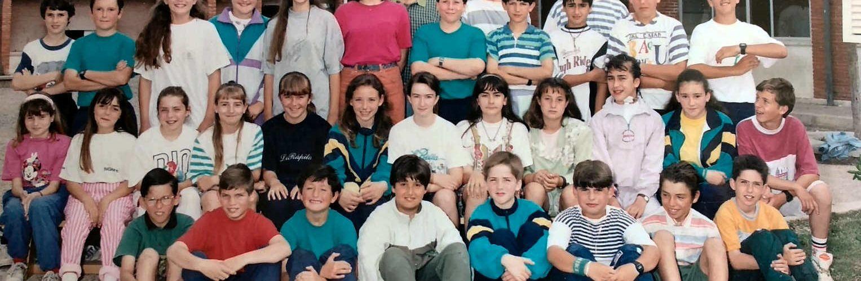 Carta d'antics d'alumnes recordant Ximo Bueno