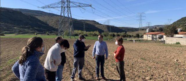 Blanch (PSPV-PSOE) visita les zones afectades per la MAT de Forestalia per recollir reivindicacions de la ciutadania i alcaldes