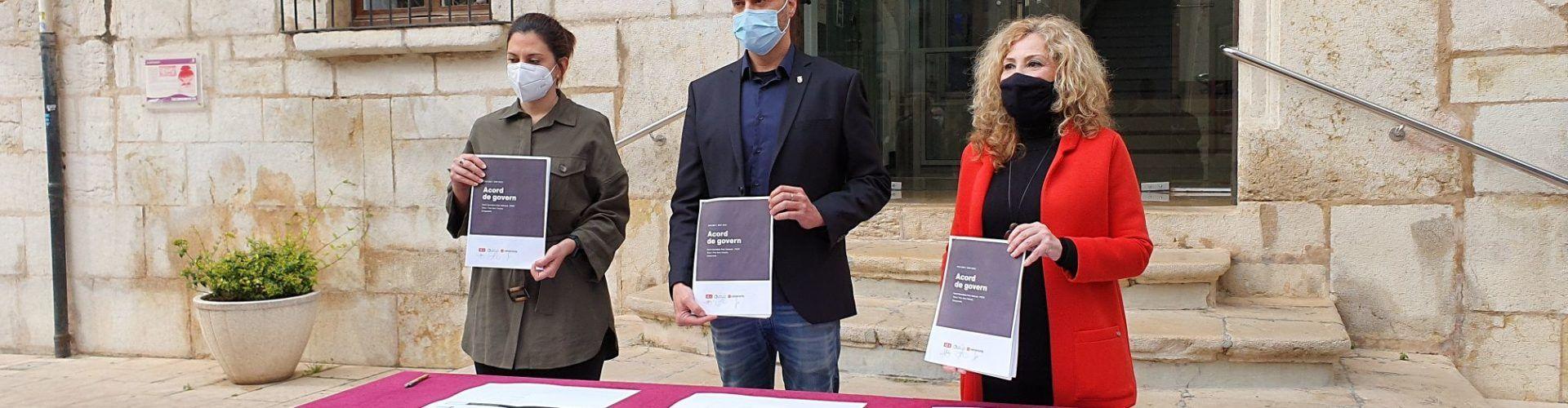 Reorganización del gobierno de Vinaròs con la entrada de la concejala de Compromís