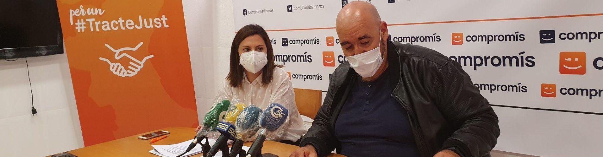 Vídeo: roda de premsa de Compromís Vinaròs