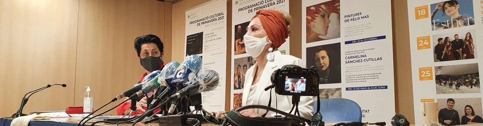 Vídeo: presentació de la programació cultural de primavera a Vinaròs