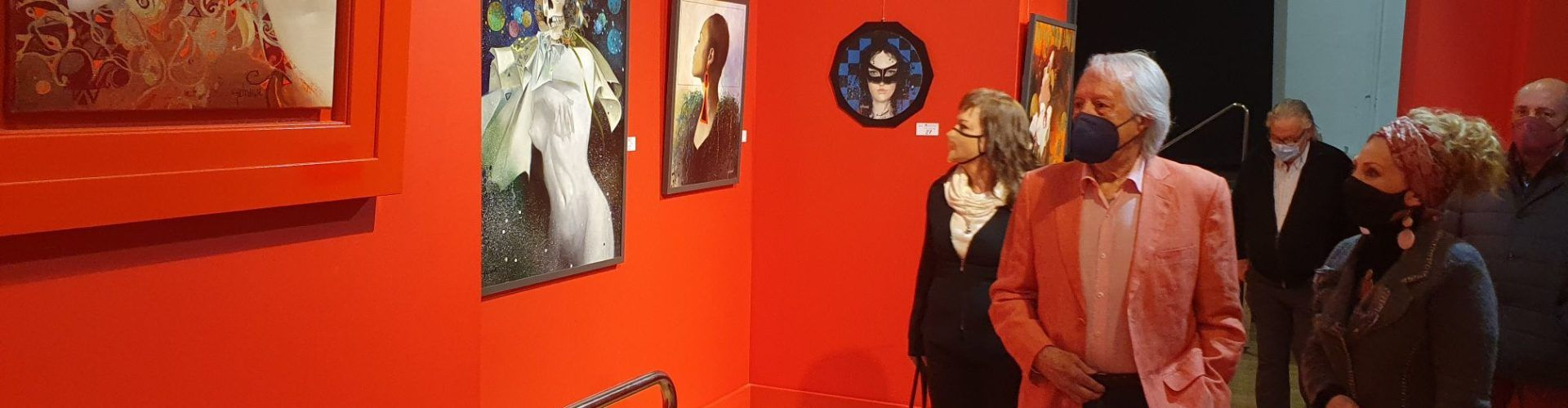 Vídeo i fotos: Olis de Fèlix Mas i poemari de Victòria Panadés