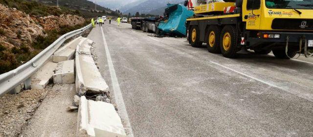 Accidentes sin heridos en Catí y Vinaròs
