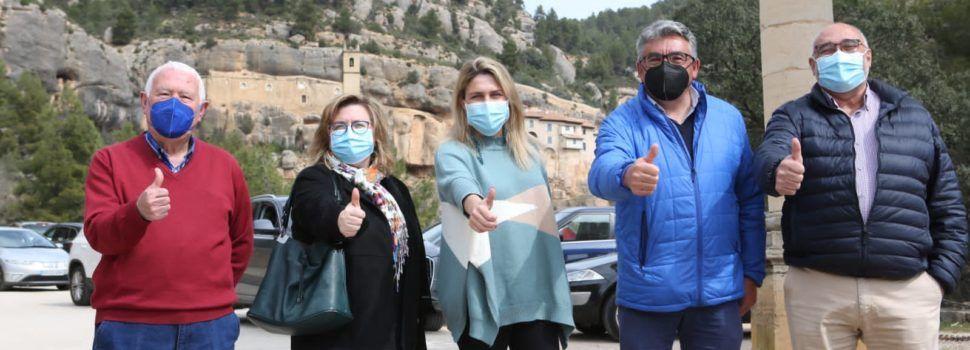 """Marta Barrachina: """"Los vecinos de Els Ports no necesitan clanes familiares, sino tener las mismas oportunidades que el resto de los castellonenses"""""""