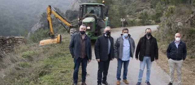 Diputació i Generalitat avancen en la professionalització de les brigades de mitigació de riscos per incendis forestals