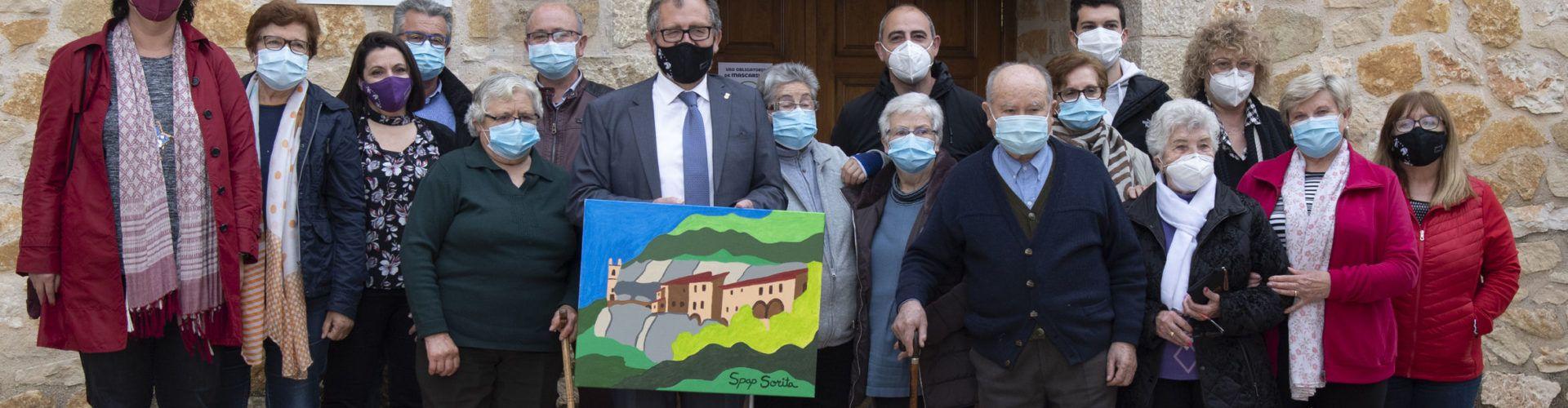 José Martí visita Palanques i Sorita, destacant l'interés de la Diputació per millorar la vida als xicotets pobles d'interior
