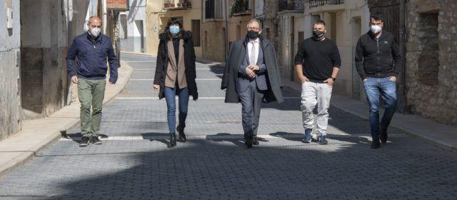 Martí visita obres a Cinctorres i la Todolella, destacant que la Diputació transferirà més de dos milions d'euros als pobles d'Els Ports