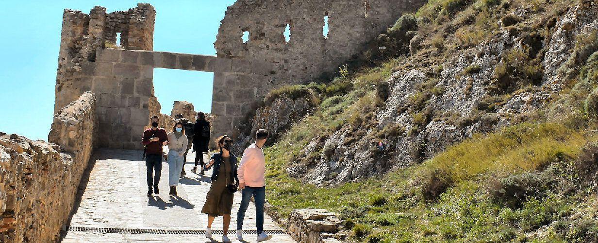 El Castell de Morella rep 4.400 visites durant la Pasqua