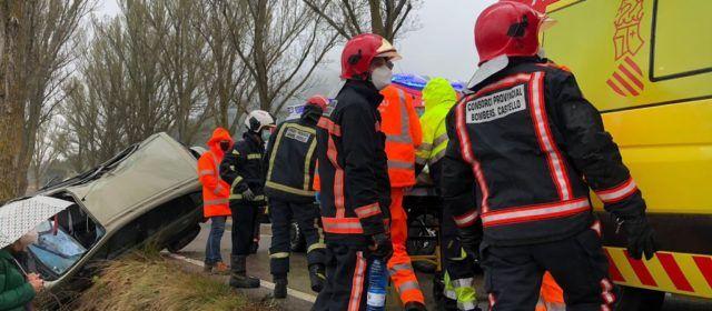 Accidente en el término municipal de Vilafranca