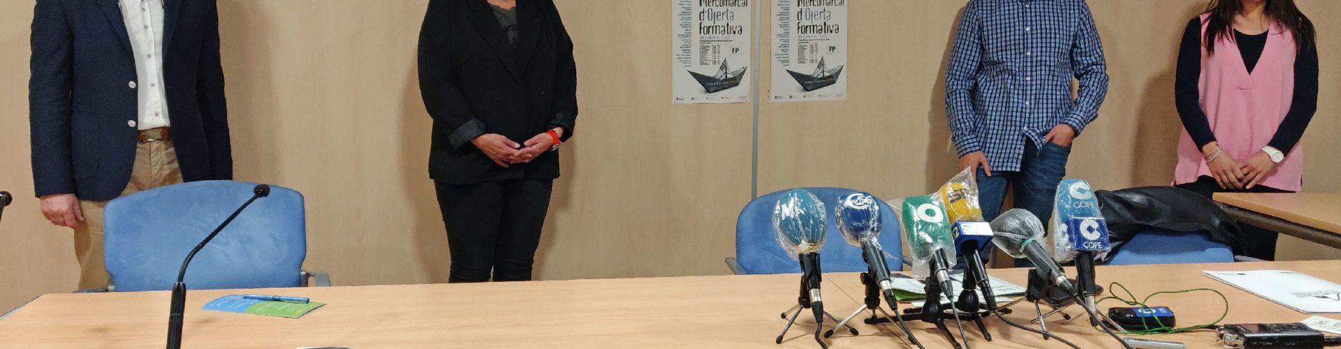 Vinaròs presenta la Fira de l'Oferta Intercomarcal d'Oferta Formativa en format digital