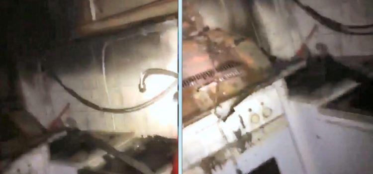 Incendio en la cocina de una vivienda de Vinaròs