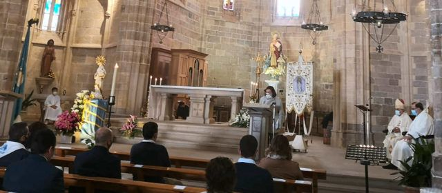 Sant Mateu celebra la Mare de Déu dels Àngels
