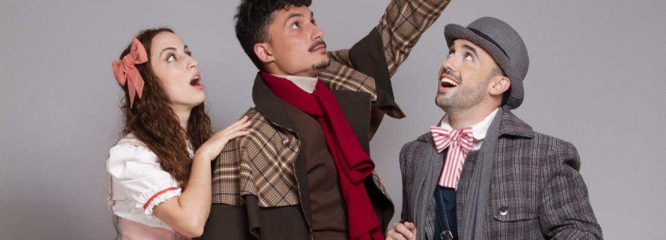 Anthony Senén, de Vinaròs, producirá y estrenará un musical en Madrid sobre Sherlock Holmes en 4D