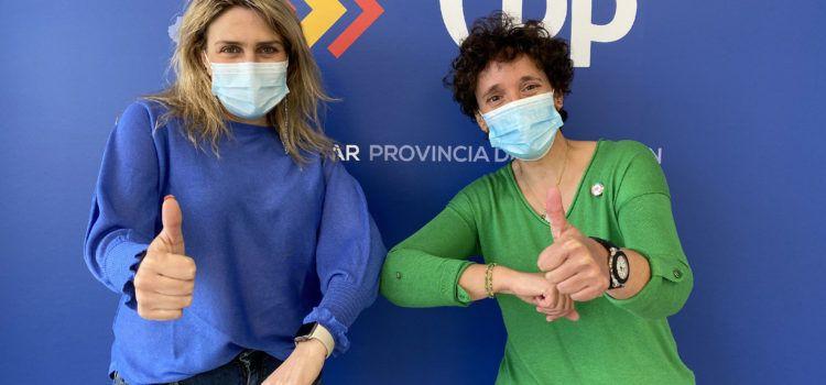 """Marta Barrachina y Carmina Ballester suman fuerzas """"desde ya"""" y trabajarán """"en un único proyecto para crear el PP fuerte que los castellonenses necesitan"""""""