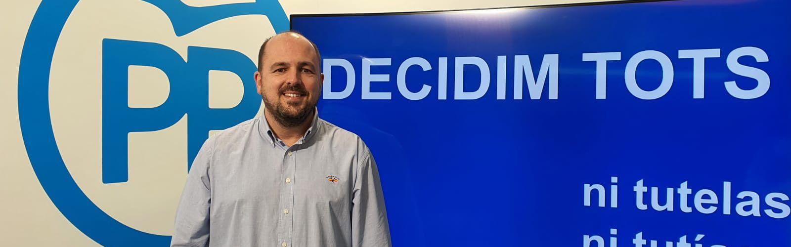 Lluís Gandía, dispuesto a negociar con la candidatura reunificada del PP